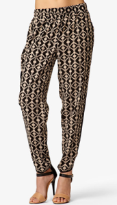 Forever 21's Ganado Print Harem Pants, $15.80