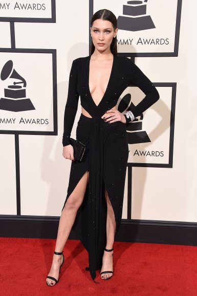 bella-hadid-dress-grammys-2016